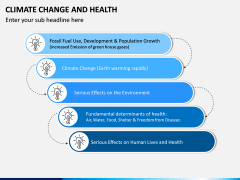 Climate Change and Health PPT Slide 6