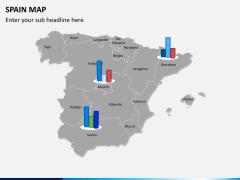 Spain map PPT slide 13