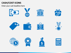 Cash Cost Icons PPT Slide 1