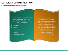 Customer Communication PPT Slide 21