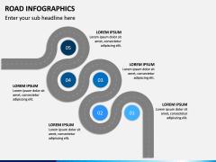 Road Infographics PPT Slide 12