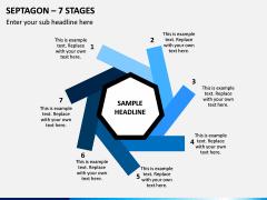 Septagon – 7 Stages PPT Slide 1