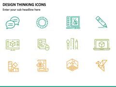 Design Thinking Icons PPT Slide 7