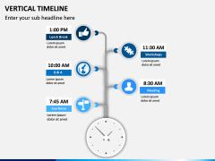 Vertical Timeline PPT Slide 8