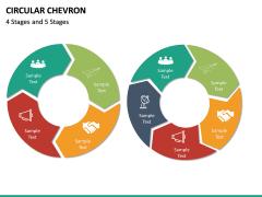 Circular Chevron PPT Slide 17