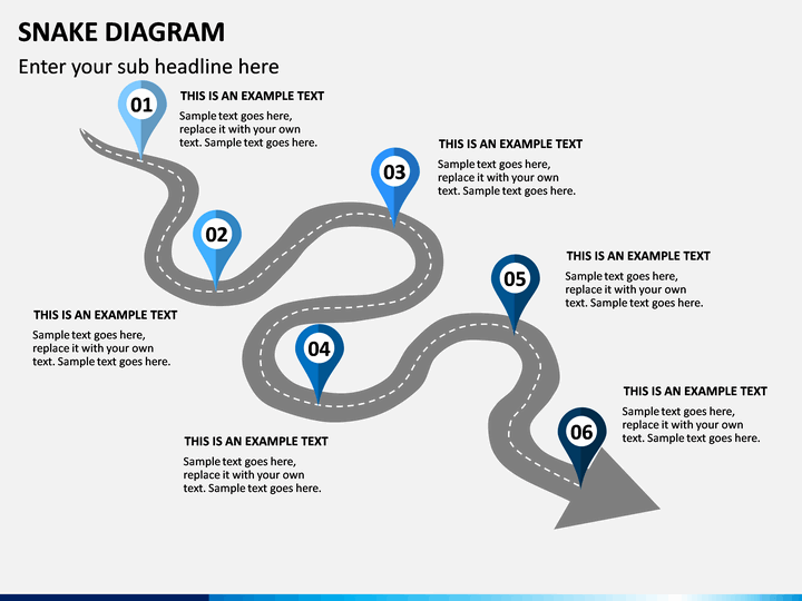 Snake Diagram Powerpoint Template