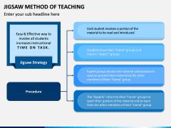 Jigsaw Method of Teaching PPT Slide 3