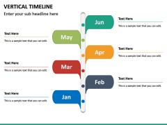 Vertical Timeline PPT Slide 16