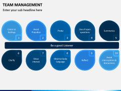 Team Management PPT Slide 6