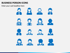 Business Person Icons PPT Slide 5