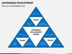 Sustainable Development PPT Slide 13