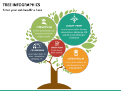 Tree Infographics PPT Slide 22
