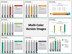 Pencil diagram PPT MC Combined