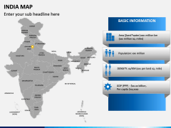 India Map PPT slide 4