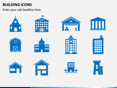 Building Icons PPT Slide 1