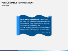 Performance Improvement PPT Slide 2