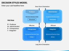 Decision Style Model PPT Slide 14