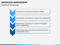 Warehouse Management PPT slide 7