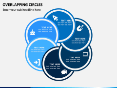 Overlapping Circles PPT Slide 1