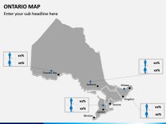 Ontario Map PPT Slide 10