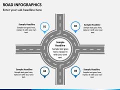 Road Infographics PPT Slide 3
