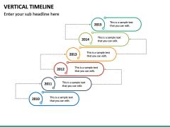 Vertical Timeline PPT Slide 26