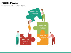 People Puzzle PPT Slide 21
