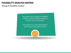 Feasibility Analysis Matrix PPT Slide 17