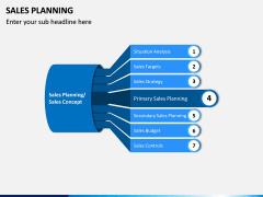 Sales Planning PPT Slide 1