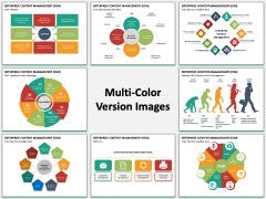 Enterprise Content Management (ECM) PPT slide MC  Combined