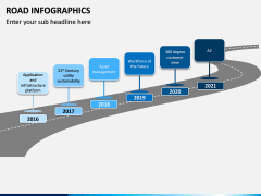 Road Infographics PPT Slide 5