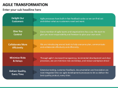 Agile Transformation PPT Slide 40