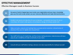 Effective Management PPT Slide 8