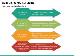 Barriers to Market Entry PPT Slide 28