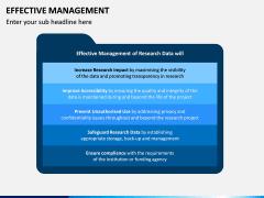 Effective Management PPT Slide 13
