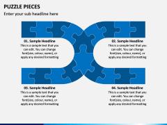 Puzzle pieces PPT slide 10