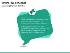 Marketing Channels PPT slide 18
