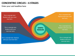 Concentric Circles – 6 Stages PPT Slide 2
