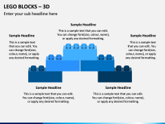Lego blocks PPT slide 2