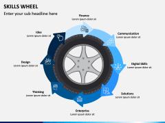 Skills Wheel PPT Slide 7