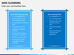 Data Cleansing PPT Slide 8