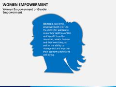 Women Empowerment PPT Slide 1