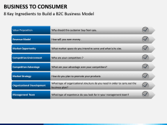 Business to Consumer PPT slide 6