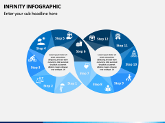 Infinity Infographics PPT Slide 5