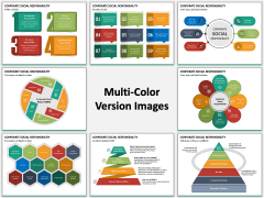 Corporate Social Responsibility (CSR) Multicolor Combined
