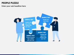 People Puzzle PPT Slide 2