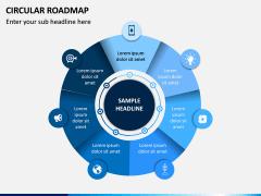 Circular Roadmap PPT Slide 11