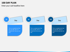 100 Day Plan PPT Slide 3