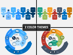 Evolution of Customer Service PPT Cover Slide