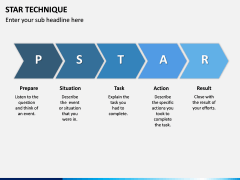 Star Technique PPT slide 6